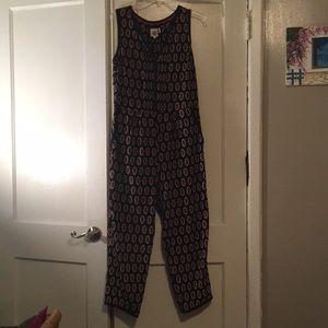 Gently worn Anthropologie jumpsuit
